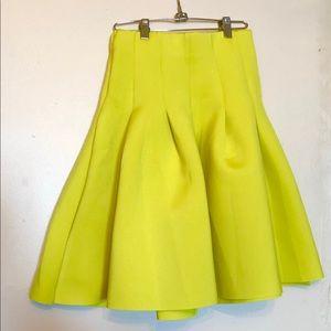 Knee length scuba skirt